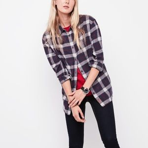 "NWOT-ROOTS ""Alaina"" Boyfriend Flannel"